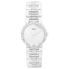 Piaget Ladies White Gold Diamond Dancer Quartz Wristwatch