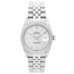 Rolex Stainless Steel Datejust Automatic Wristwatch Ref 16220