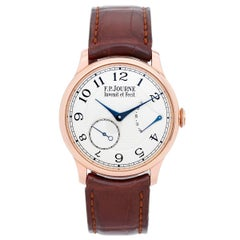 F.P. Journe Rose Gold Chronometre Souverain Manual Wristwatch