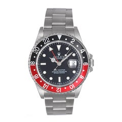 Rolex Stainless steel GMT-Master Automatic Wristwatch Ref 16700