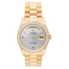 Rolex Yellow Gold President Day-Date Factory Mother-of-Pearl wristwatch
