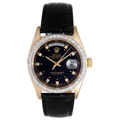 Rolex yellow Gold President Day-Date Wristwatch ref 18038