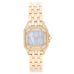Cartier Ladies Yellow Gold Panthere Panther Wristwatch Ref W25022B9