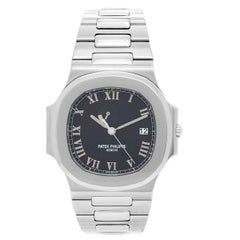 Patek Philippe & Co. Stainless Steel Nautilus Automatic Wristwatch Ref 3710