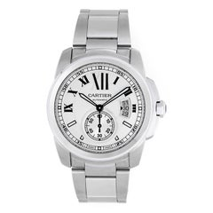 Cartier Stainless Steel Automatic Wristwatch Ref W7100015