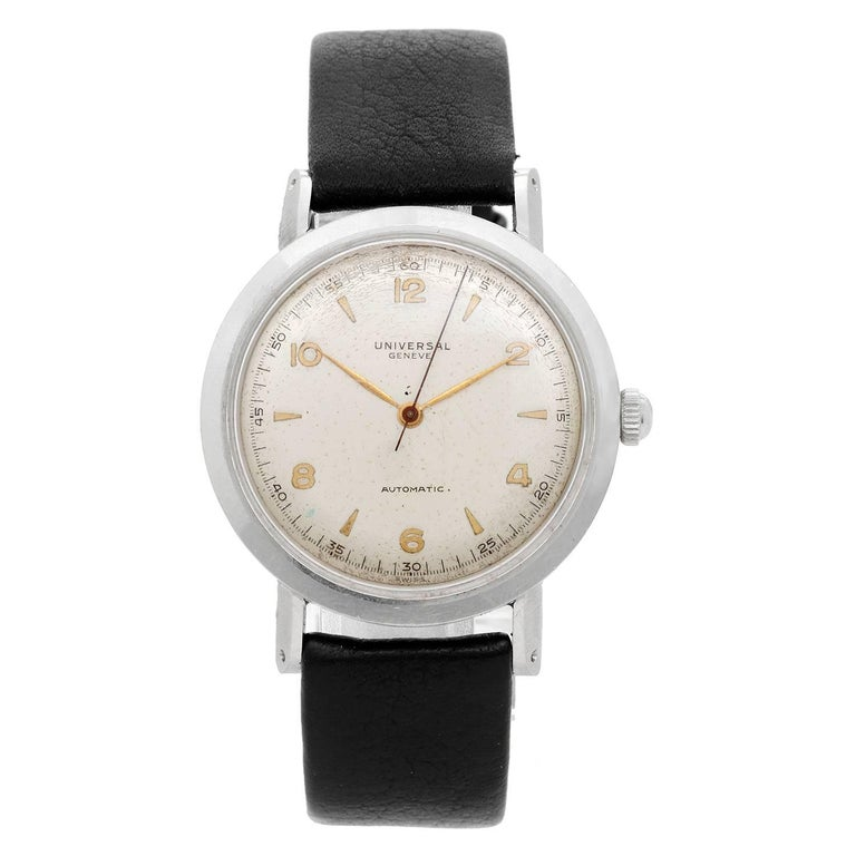 Universal Genève Stainless Steel Automatic Wristwatch