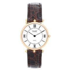 Van Cleef & Arpels Yellow Gold Classique Quartz Wristwatch