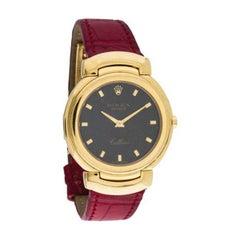 Rolex yellow gold Cellini Quartz Wristwatch 6622