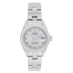 Rolex Ladies Stainless Steel Date Automatic Wristwatch Ref 79240