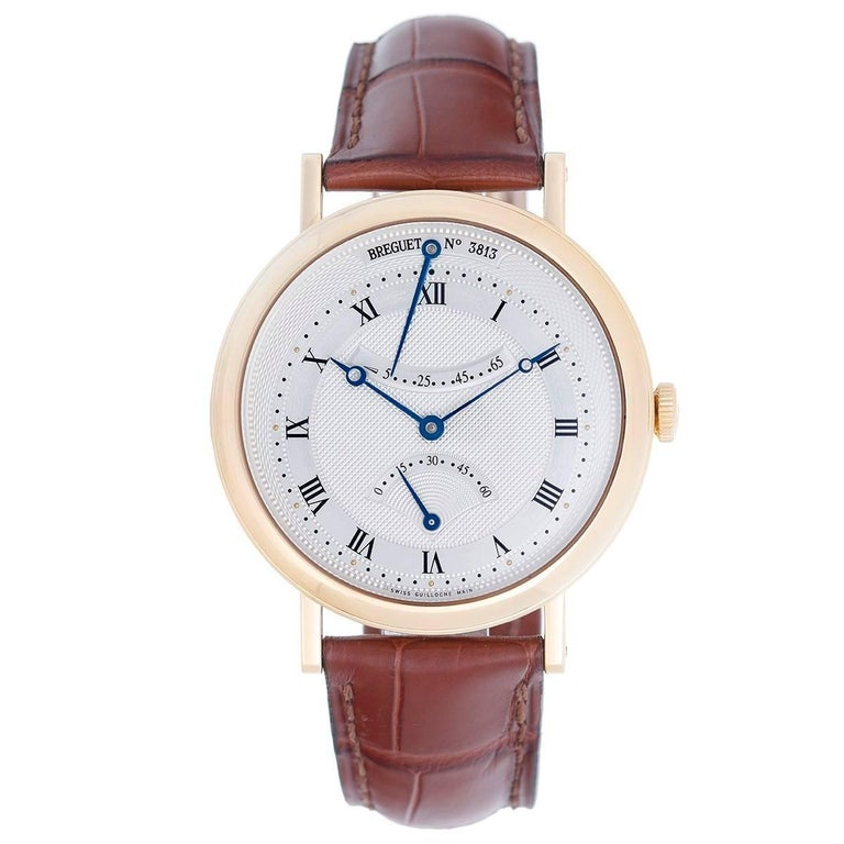 Breguet Yellow Gold Classique Ultra Slim Automatic Wristwatch Ref  5207