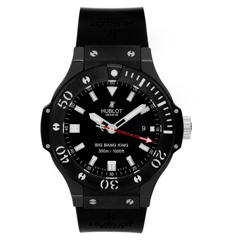 Hublot Stainless Steel ceramic Big Bang King Automatic Wristwatch