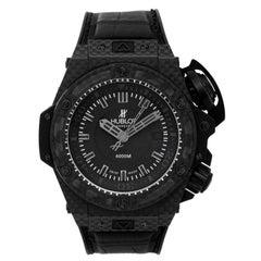 Hublot Carbon Fiber Oceanographic 4000 Automatic Wristwatch