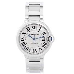 Cartier Stainless Steel Ballon Bleu Midsize Automatic Wristwatch