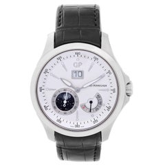 Girard-Perregaux Stainless Steel Traveller Automatic Wristwatch