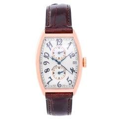 Franck Muller Rose Gold Master Banker Automatic Wristwatch Ref 5850 MB