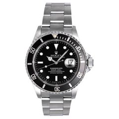 Rolex Stainless Steel Submariner Automatic Wristwatch Ref 16610