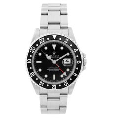 Rolex Stainless steel GMT-Master II Automatic Wristwatch Ref 16710
