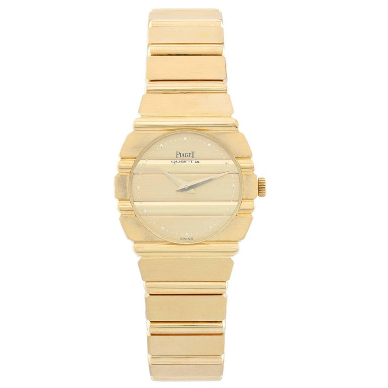 Piaget Ladies Yellow Gold Polo Quartz Wristwatch
