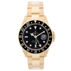 Rolex Yellow Gold GMT-Master II Automatic Wristwatch Ref 16718