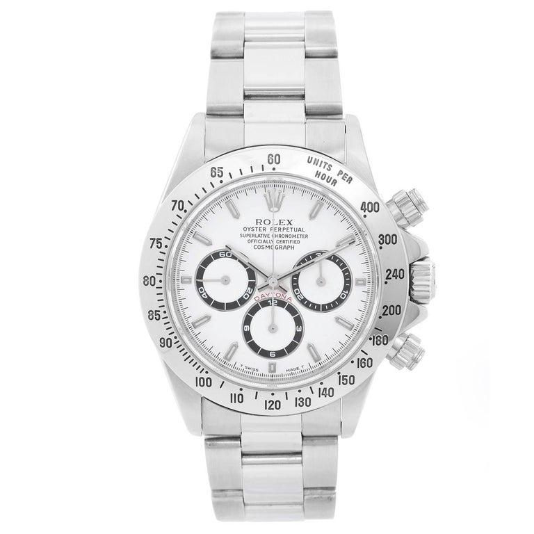 Rolex Stainless steel Zenith Daytona Chronograph Automatic Wristwatch Ref 16520
