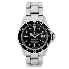 Rolex Stainless Steel Submariner Vintage Automatic Wristwatch Ref 1680