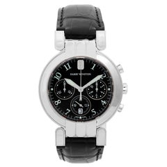 Harry Winston White Gold Premier Chronograph Quartz Wristwatch