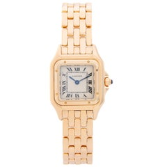 Cartier Ladies Yellow Gold Panther Panthere Quartz Wristwatch