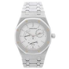 Audemars Piguet Stainless Steel Royal Oak Dual Time Automatic Wristwatch