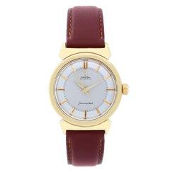 Omega yellow gold-filled Seamaster Automatic Wristwatch