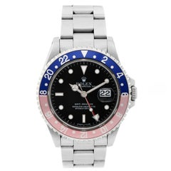 Rolex Stainless Steel Blue / Red Bezel GMT-Master Automatic Wristwatch Ref 16700