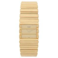 Piaget Yellow Gold Polo Quartz Wristwatch Ref 7131 C701
