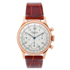 Breitling Rose Gold Premier Vintage Manual Wristwatch Ref 788