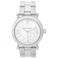Van Cleef & Arpels Ladies Stainless Steel Monsieur Arpels Laterale Wristwatch
