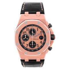 Audemars Piguet Rose gold Royal Oak Offshore Chronograph Automatic Wristwatch
