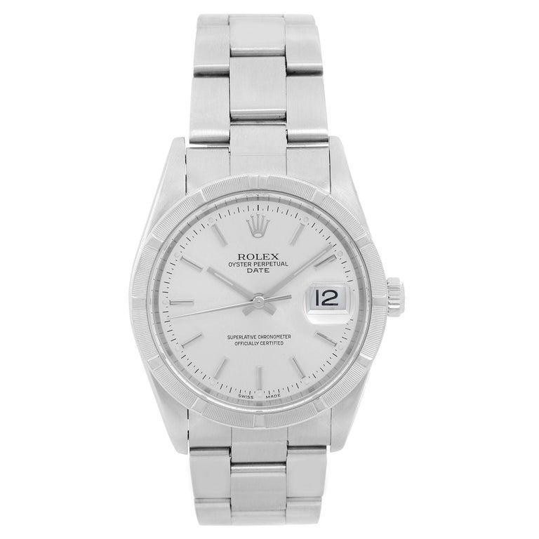 Rolex Stainless Steel Automatic Wristwatch Ref 15210