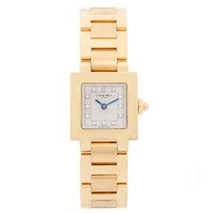 Chaumet Carree 18 Karat Yellow Gold Ladies Watch