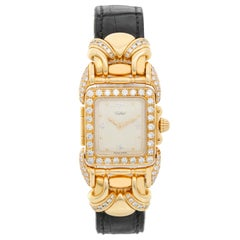 Tabbah 18 Karat Yellow Gold Diamond Ladies Watch