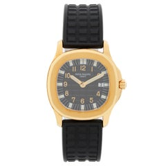 Patek Philippe Aquanaut 18 Karat Yellow Gold Watch 4960 J