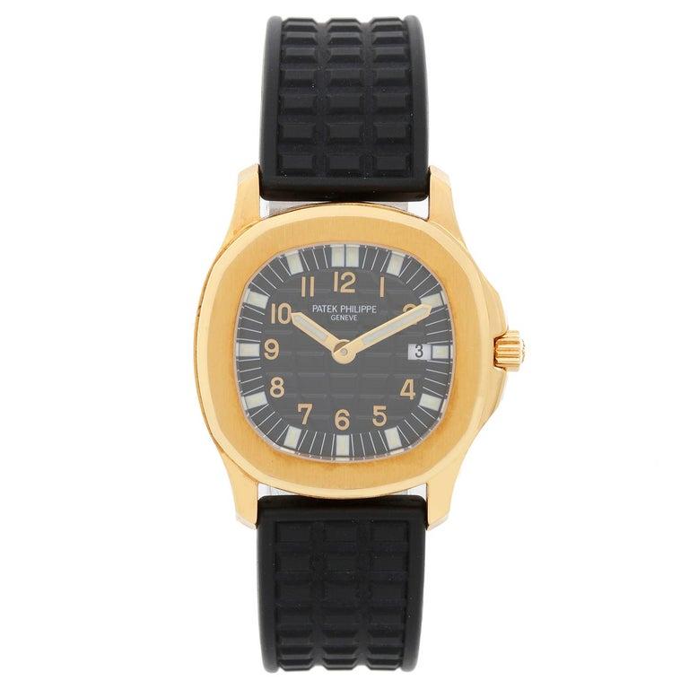 Patek Philippe Aquanaut 18 Karat Yellow Gold Watch 4960 J