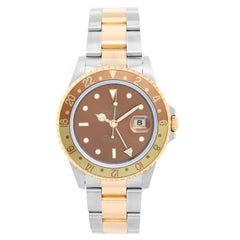 Men's Rolex GMT, Master II Watch 16713 Root Beer
