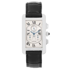 Cartier Tank Americaine 'or American' Chronograph Men's Watch W2603356