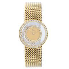 Chopard Happy Diamonds 18 Karat Gold Ladies Watch