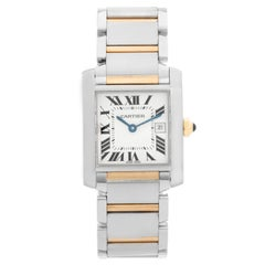 Cartier Tank Francaise Men's 2-Tone Watch W51005Q4