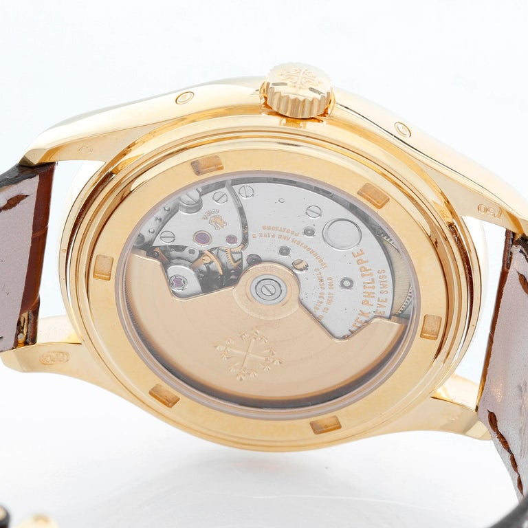 Patek Philippe Annual Calendar Yellow Gold Men's Moonphase Watch 5146J '5146 J' For Sale 1