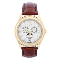 Patek Philippe Annual Calendar Yellow Gold Men's Moonphase Watch 5146J '5146 J'