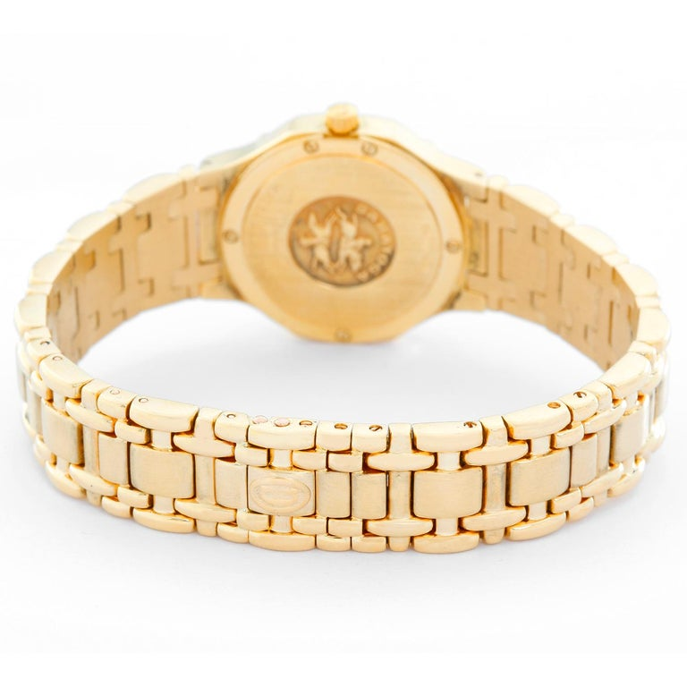 Concord Ladies 18 Karat Yellow Gold Saratoga Ladies Watch In Excellent Condition For Sale In Dallas, TX