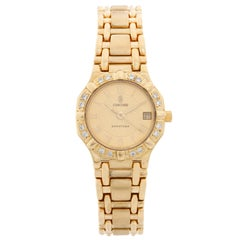Concord Ladies 18 Karat Yellow Gold Saratoga Ladies Watch
