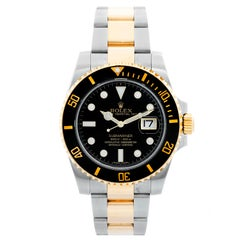 Rolex Submariner 2-Tone Steel and Gold Men's Watch 116613 LB
