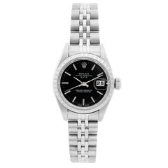 Rolex Ladies Date Stainless Steel Watch 79240