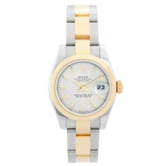 Rolex Ladies Datejust 2-Tone Stainless Steel and 18 Karat Gold Watch 179163